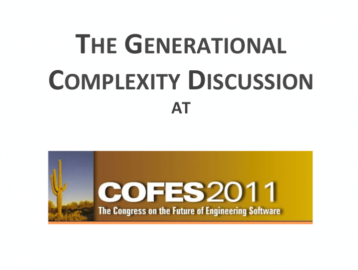 Generational Complexity Discussion