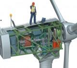 3D CAD Model Wind Electricity Generator