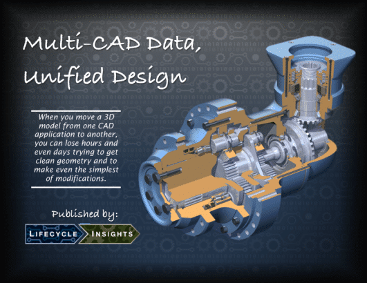 eBook Cover / Multi-CAD Data, Unified Design