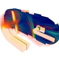 Simulation CFD Helicopter Pump