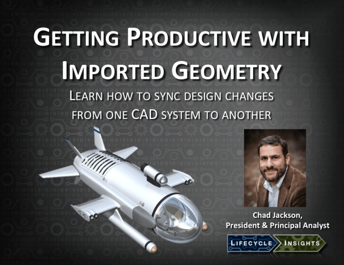 Cover / Webinar / Getting Productive with Imported Geometry