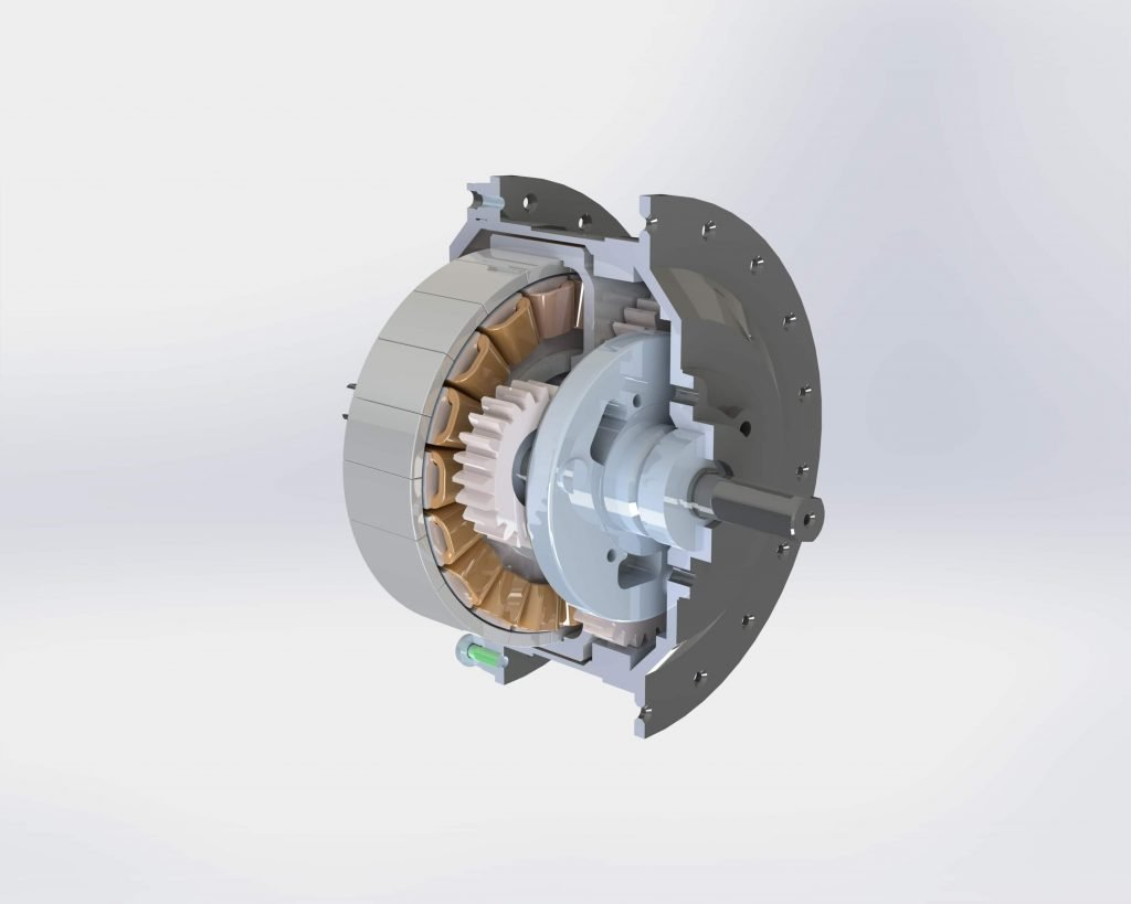 3D CAD Model Rotor and Housing