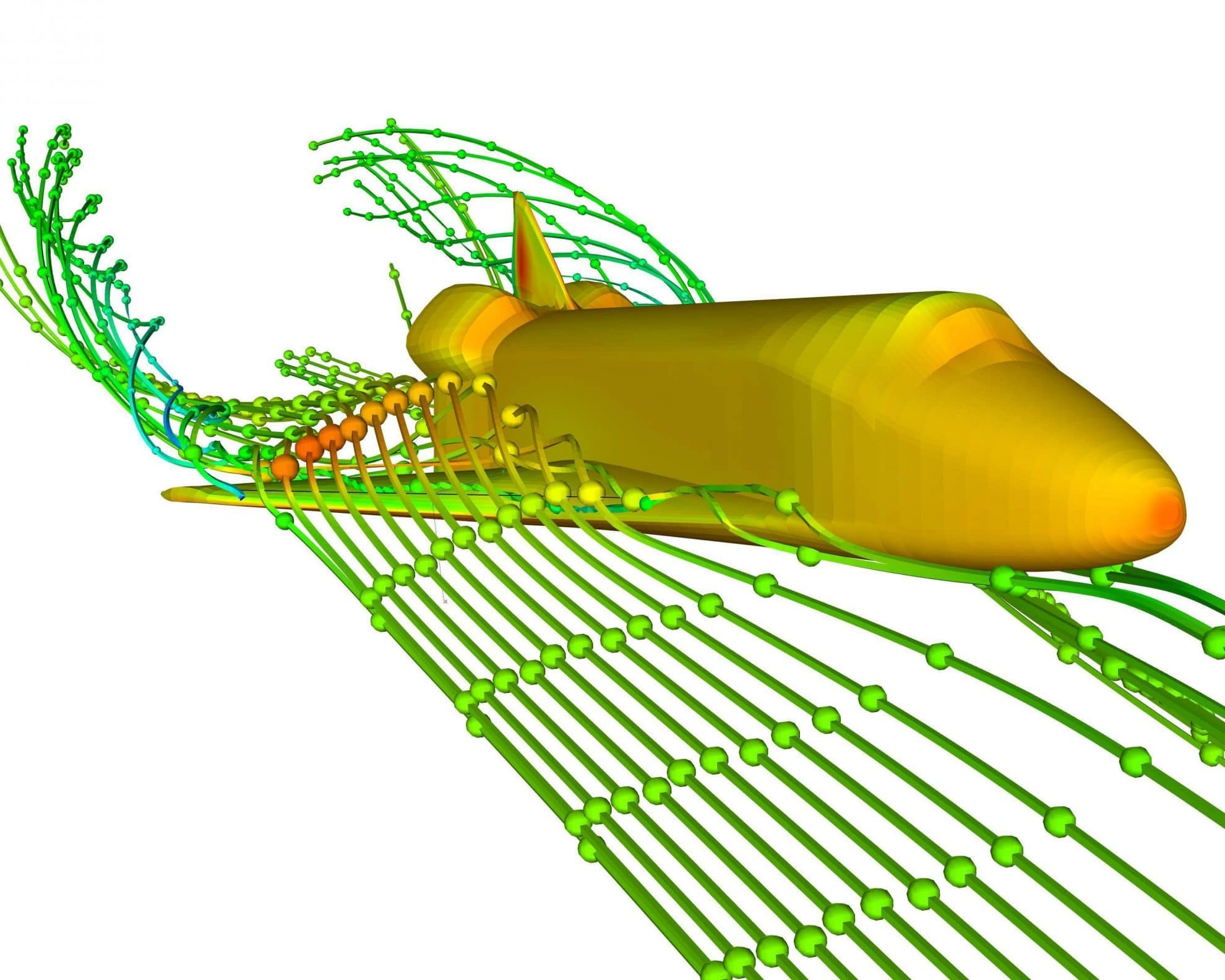 Simulation CFD NASA Shuttle