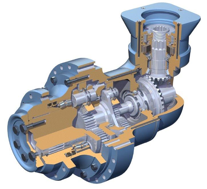 3D CAD Model Transaxle