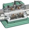 3D CAD model of a brake clutch