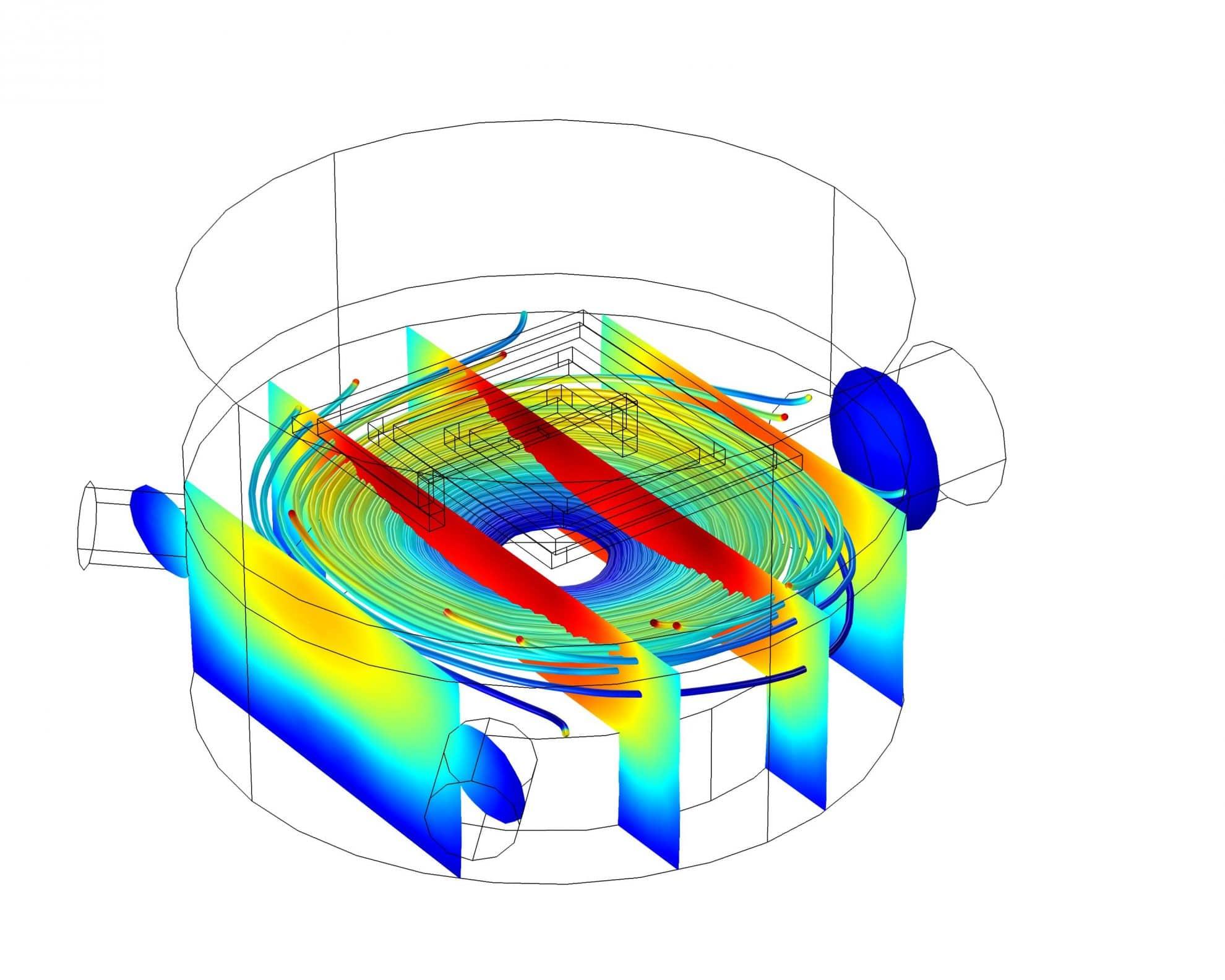 Simulation CFD Vacuum