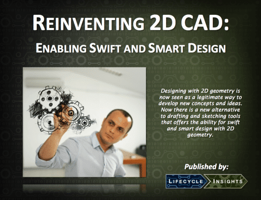 eBook Cover / Reinventing 2D CAD Design
