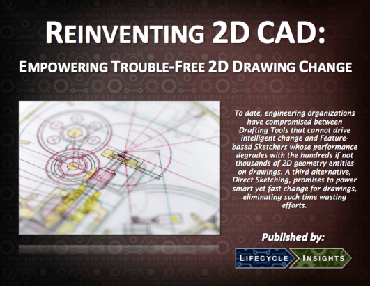 eBook Cover / Reinventing 2D CAD Drawing