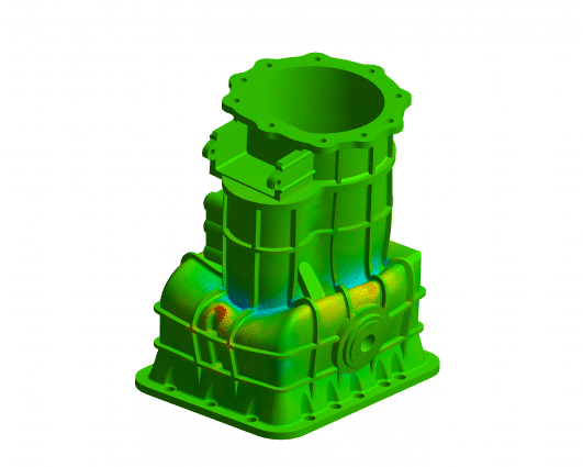 Simulation FEA Gearbox
