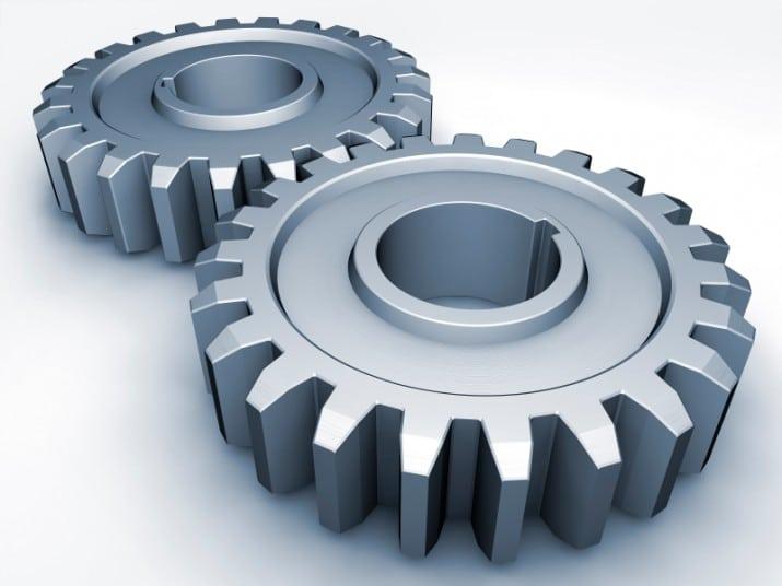 3D CAD Model Gears