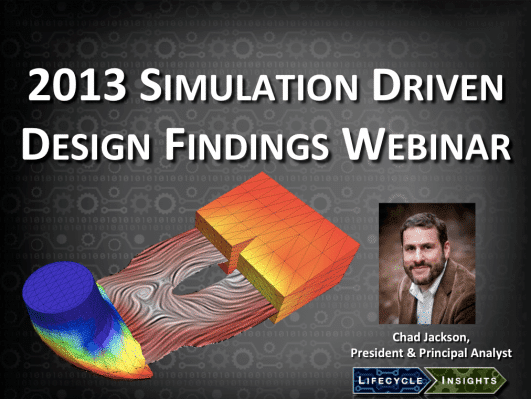 Cover / Webinar / Simulation Driven Design Findings