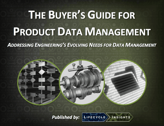 eBook Cover / Buyer's Guide for Product Data Management (PDM)