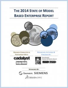 eBook Cover / State of Model Based Enterprise Report