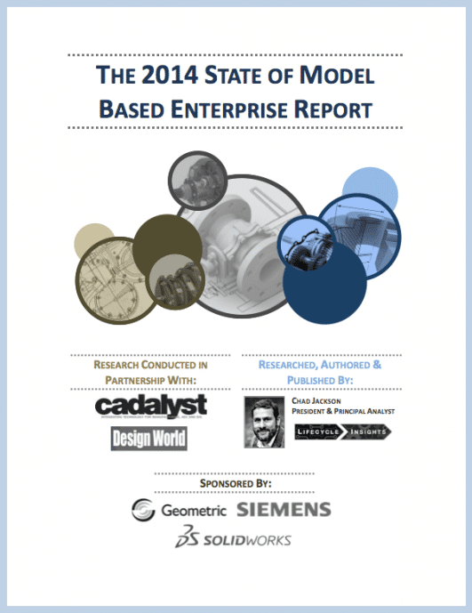 eBook Cover / State of Model Based Enterprise Report