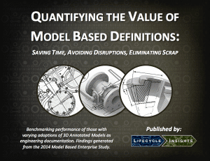 eBook Cover / Quantifying the Value of Model Based Definitions