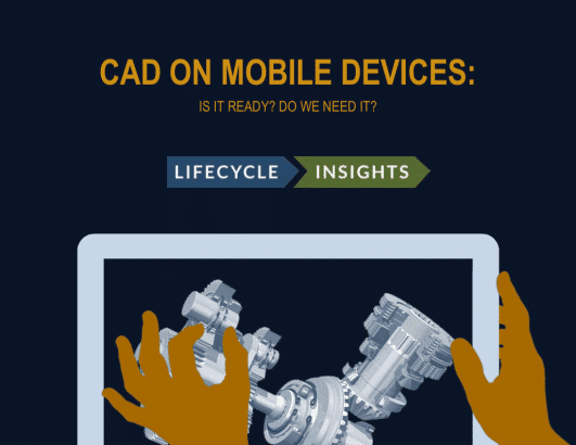 eBook Cover / CAD on Mobile Devices