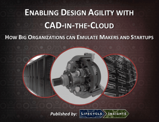 eBook Cover / Enabling Design Agility with CAD-in-the-Cloud