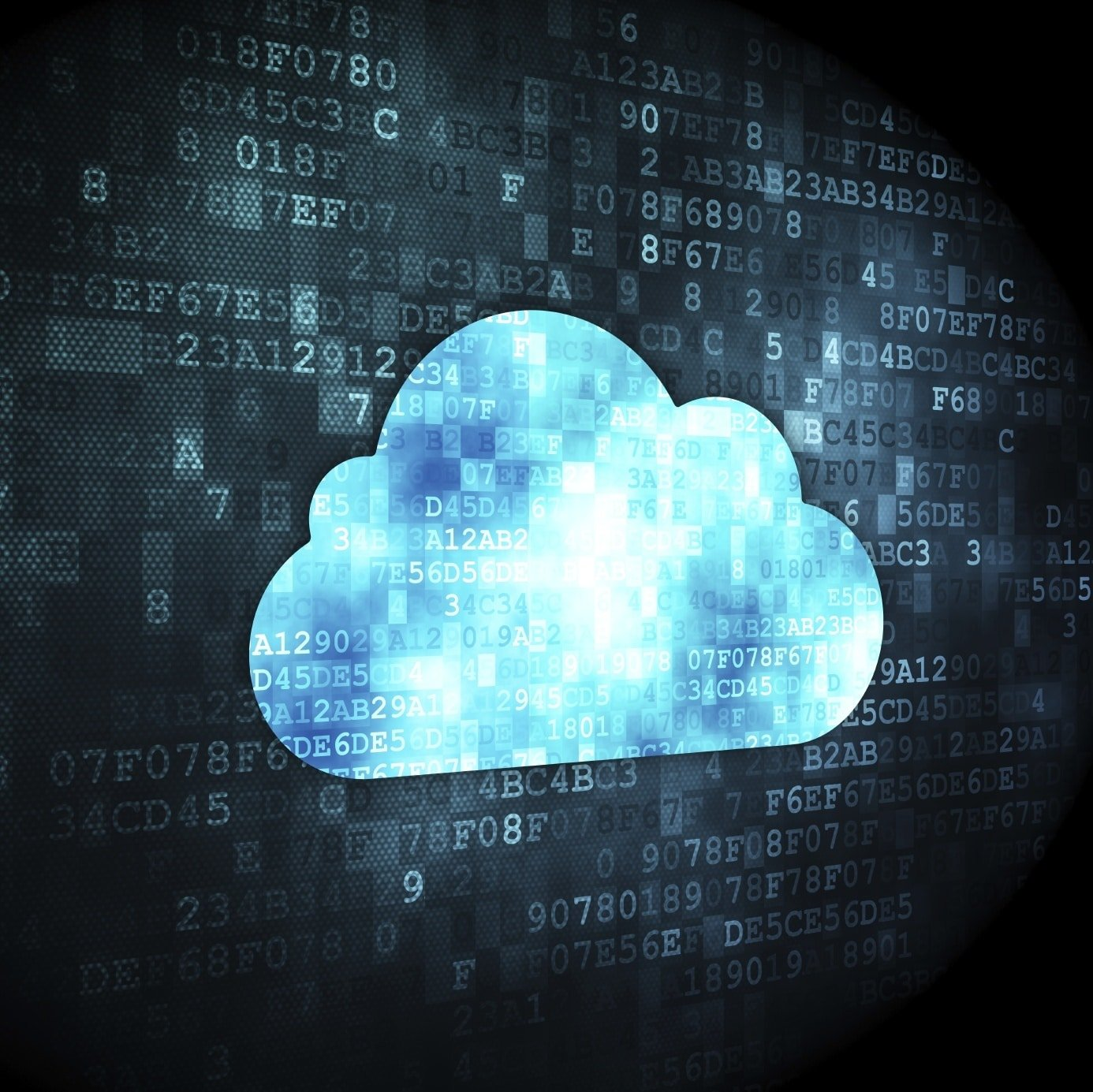 Technology Concept Cloud Digital