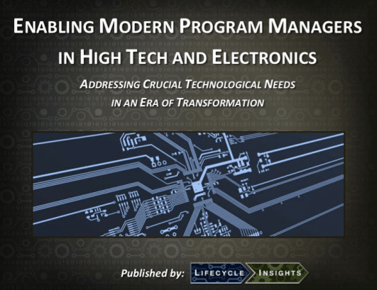eBook Cover / Enabling Modern Program Managers in High Tech and Electronics