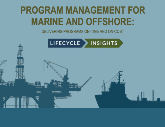 eBook cover / Program Management for Marin and Offshore