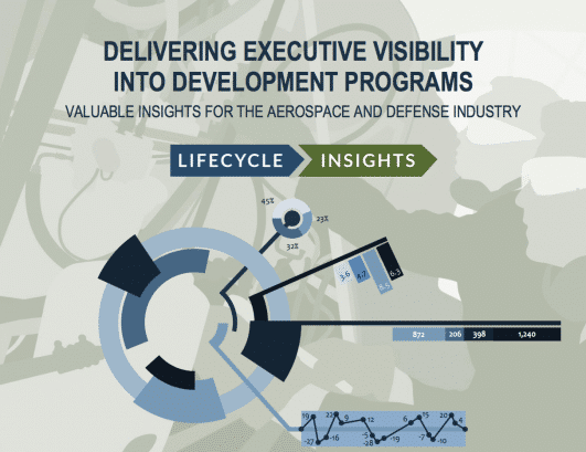 Cover / Delivering Executive Visibility into Aerospace and Defense Programs