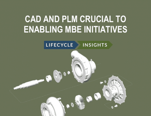 Cover : eBook : CAD and PLM Crucial to Enabling MBE Initiatives